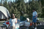 Yellowstone National Park: Campsite